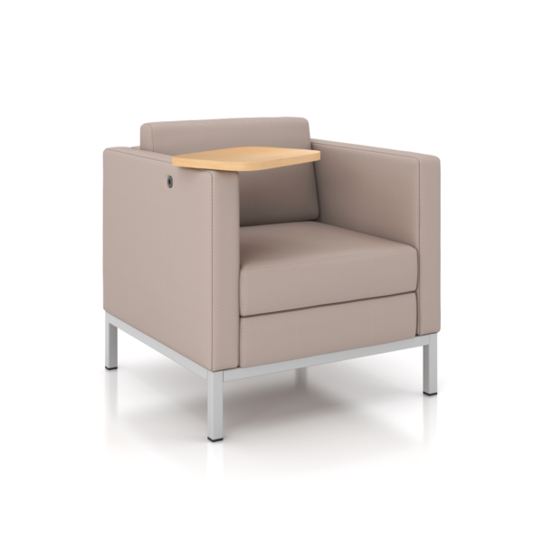 CUBE 300 Armchair with Tablet Arm in Illinois
