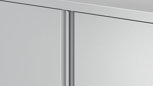 Lateral File Cabinet Pull Close-up