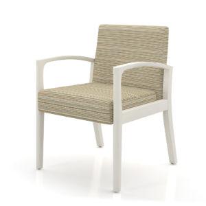 Sencha Guest Chair Metal Legs