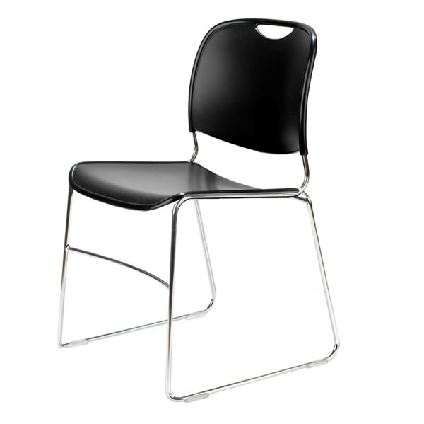 4800 Stacking Guest Chairs in Black