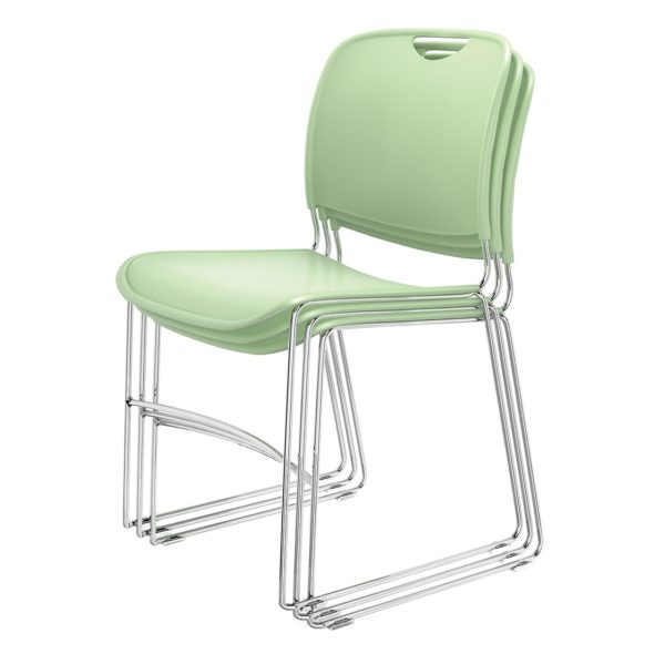 4800 Stacking Guest Chairs in Green