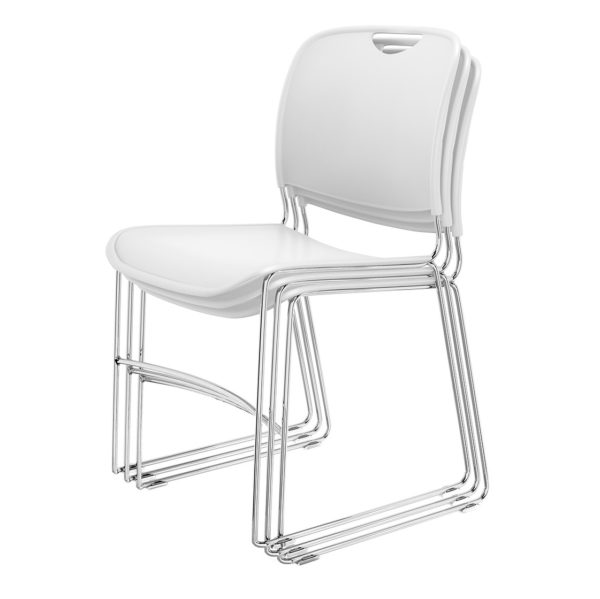 4800 Stacking Guest Chairs in white